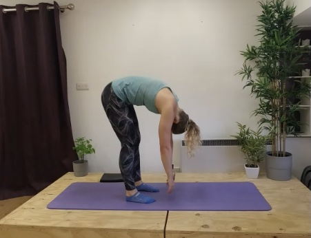 rolldown is bending bad for your back